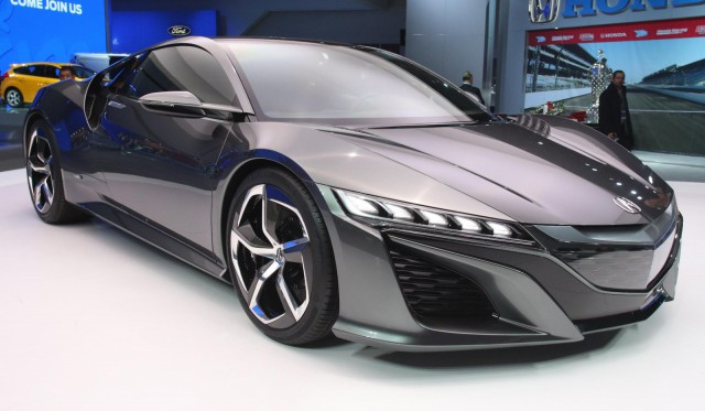Detroit 2013 Acura NSX Concept