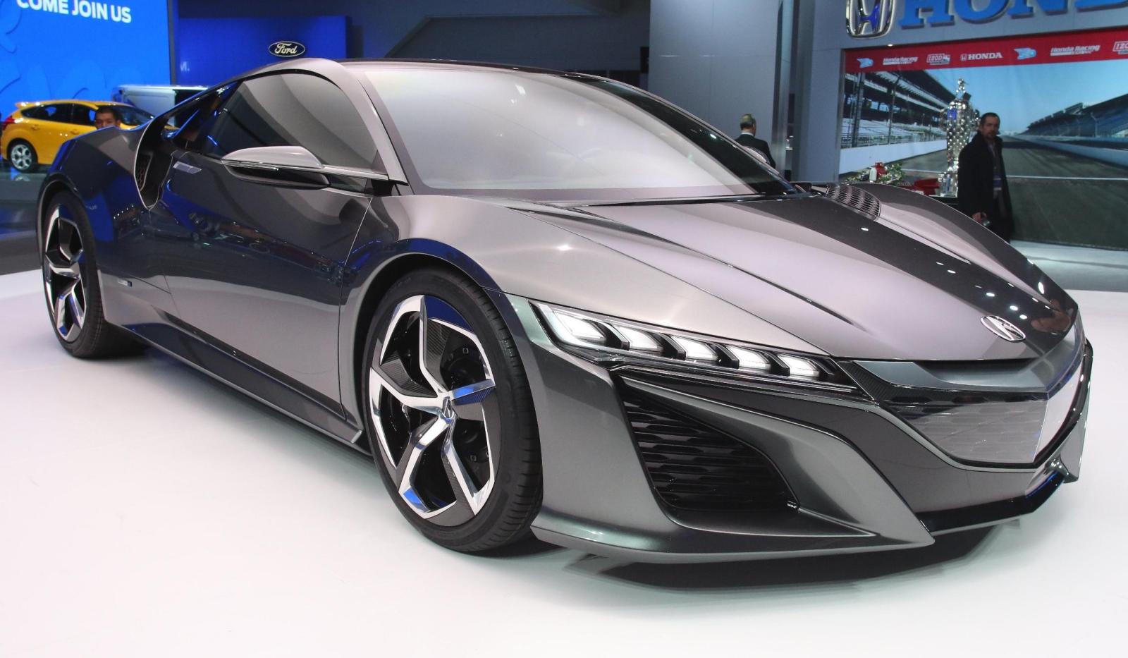 Detroit 2013 Acura Nsx Concept Gtspirit
