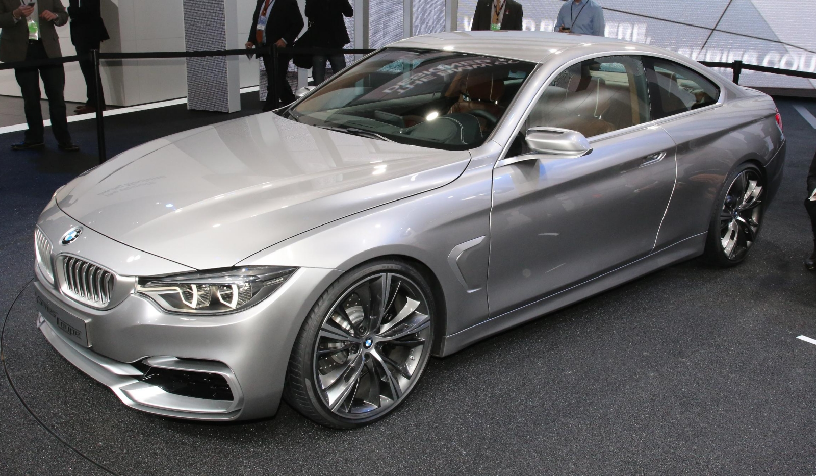 The new BMW Concept 4 Series Coupe was first revealed online just over ...