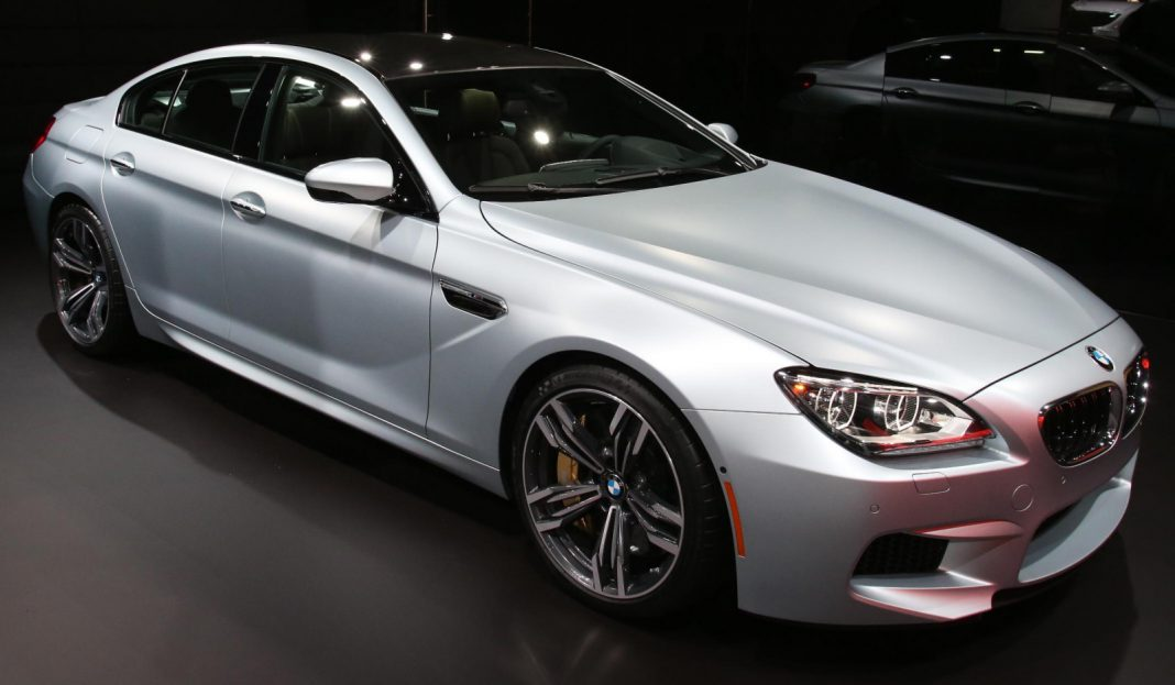 Detroit 2013 BMW M6 Gran Coupe