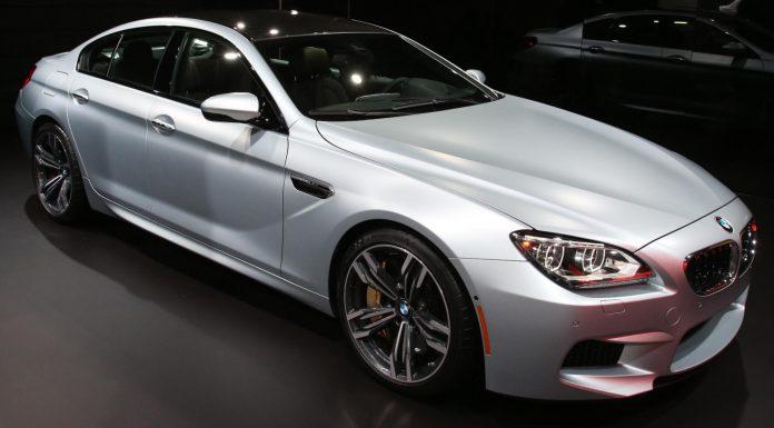 Detroit 2013 BMW M6 Gran Coupe