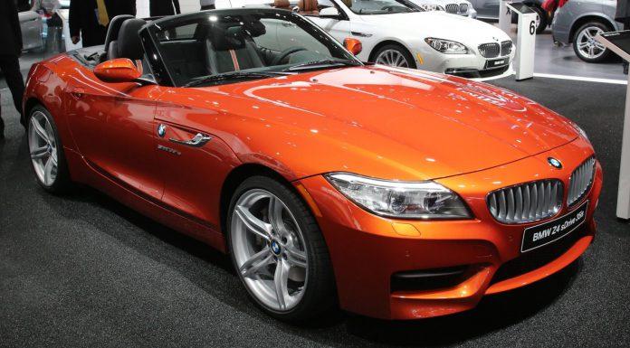 Detroit 2013 BMW Z4 Roadster Facelift