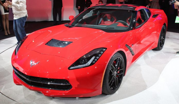 Detroit 2013 Corvette Stingray