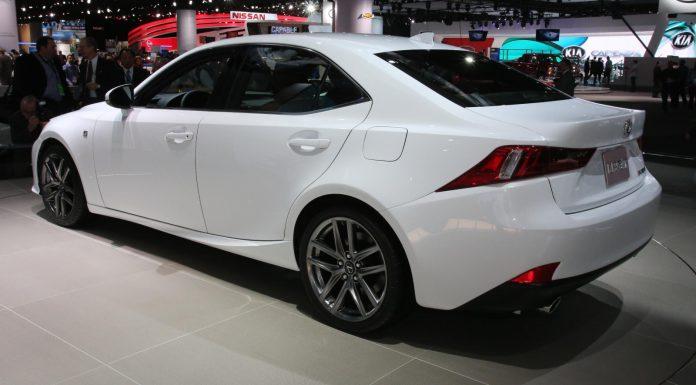 Detroit 2013 Lexus IS F-Sport 01