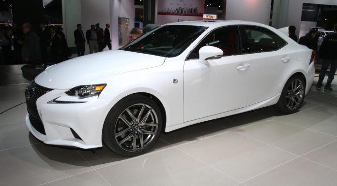 Detroit 2013 Lexus IS F-Sport