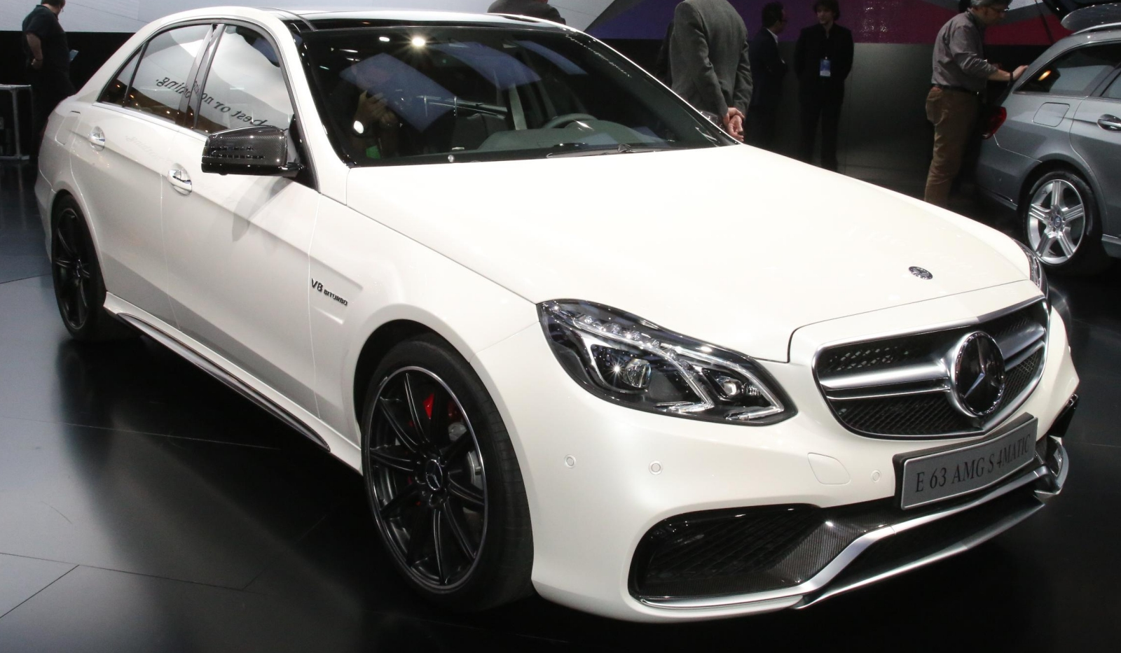 Motor Show 2013 , the brand new for 2014 Mercedes-Benz E63 AMG 4Matic