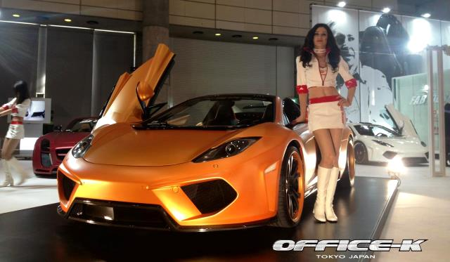 Tokyo 2013: FAB Design Terso 12C Spider by Office-K