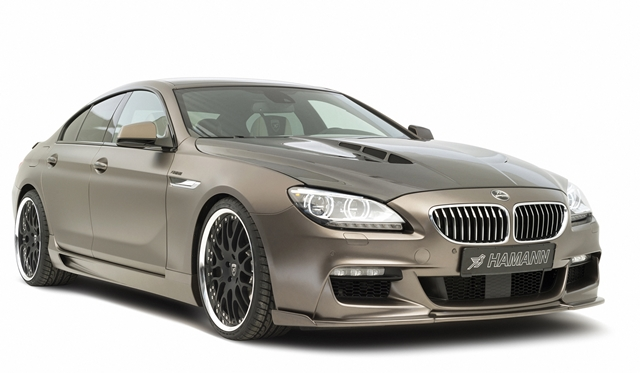 Hamann extends individualisation programme for their BMW 6-series Gran Coupe