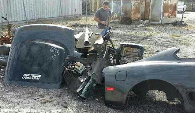 Jessica Bartons Toyota Supra Found