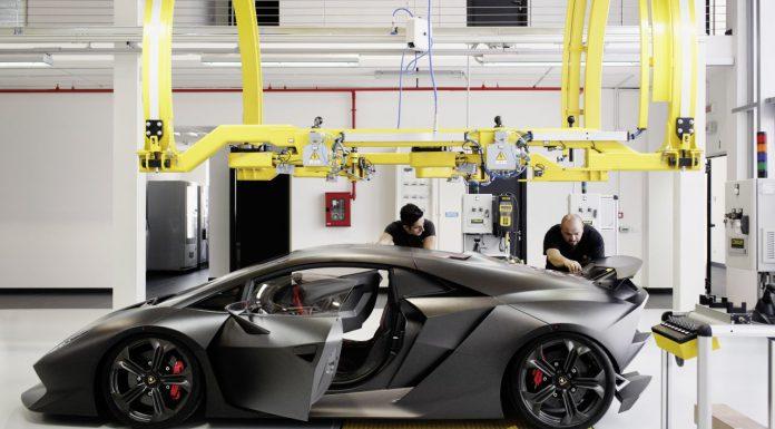 Lamborghini Officially Kicks off Sesto Elemento Production