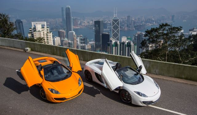 McLaren 12C Spider in Hong Kong