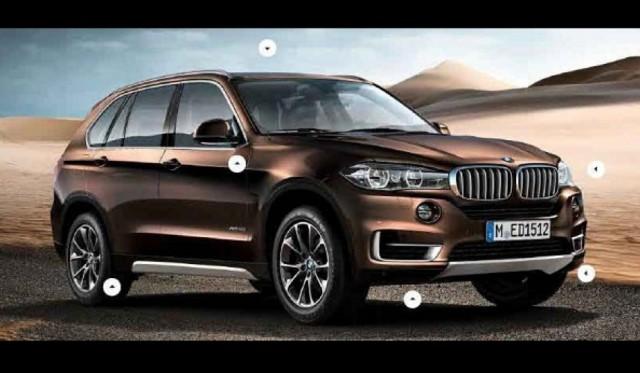 Leak BMW X5 F15 01