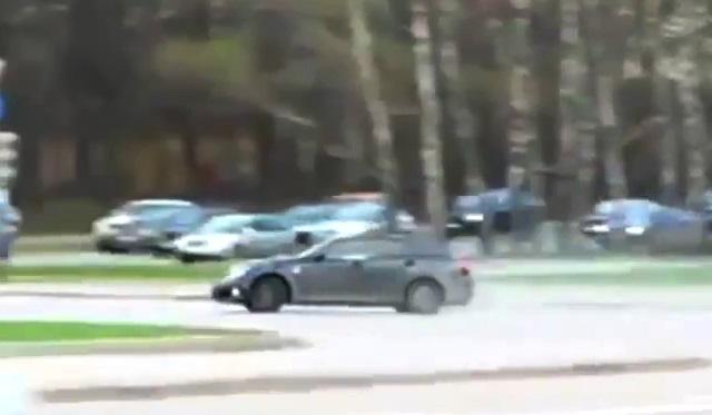Lexus IS-F Drift