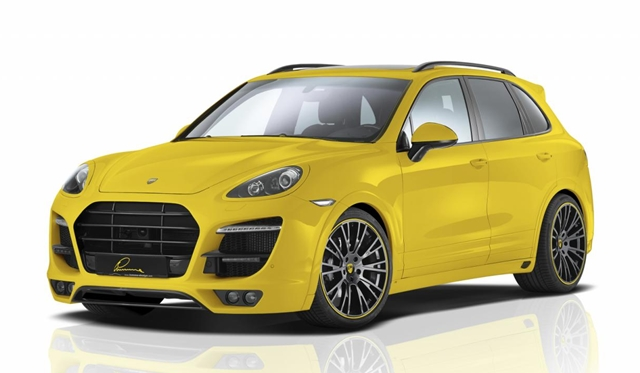 Official: Lumma CLR 558 GT-S Body Kit for Porsche Cayenne