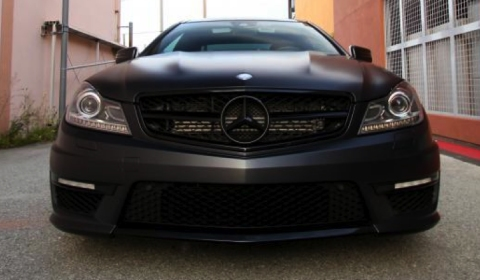 Mercedes-Benz C63 AMG Coupe Dark Fantasy by Mode Carbon