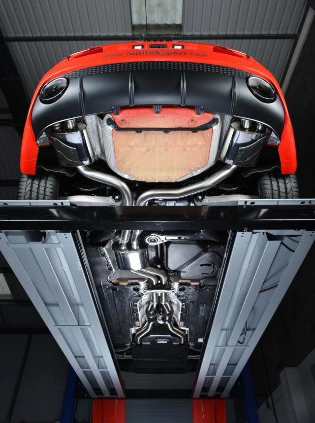 Miltek Releases 2013 Audi RS4 Exhaust System 01