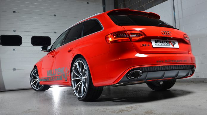 Miltek Releases 2013 Audi RS4 Exhaust System