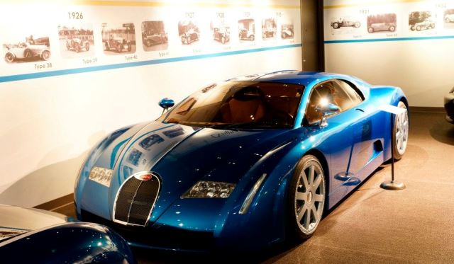 Mullin Automotive Museum with 25 Bugatti Models of all Time
