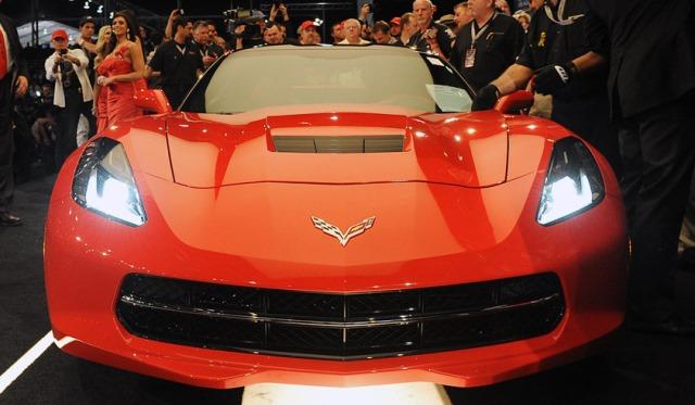 New Corvette Stingray Auctioned for $1.1 Million