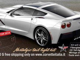 Nostalgic Tail Kit Gives Corvette C7 a C6 Rear End Shape