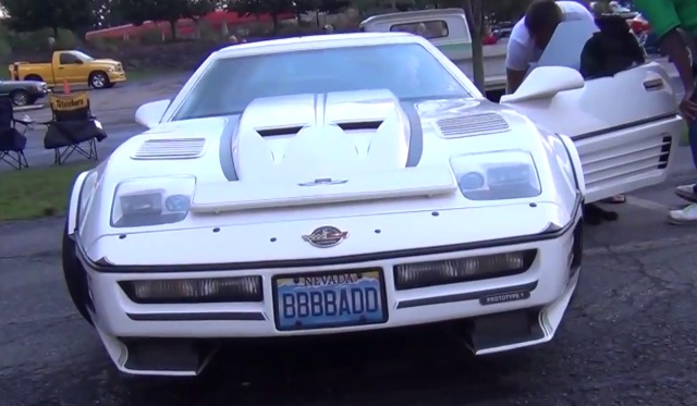 Overkill Supercharged Loud Corvette dubbed the Scorpion