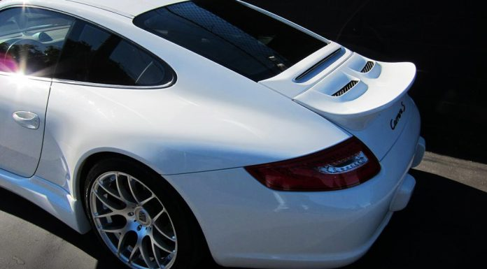 Porsche 911 Ducktail Spoiler, Front Bumper lip and Side Skirts by Misha Designs