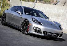 Porsche Panamera GTS with F2.15 Forgiato Wheels