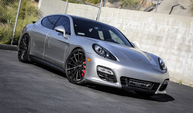 Porsche Panamera GTS with F2.15 Forgiato Wheels