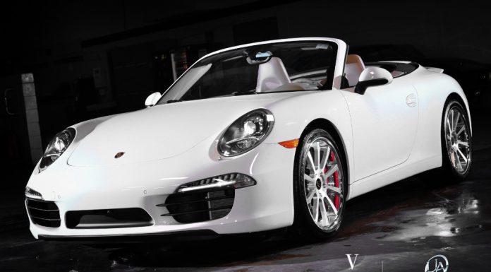 Porsche 911 on VKO Concave Wheels From Vellano