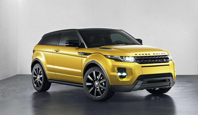 Official: Range Rover Evoque Sicilian Yellow Limited Edition