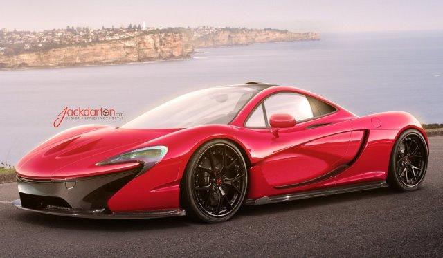 Render McLaren P1 by Jack Davies