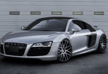 "Audi R8 V10 on Modulare 20"" Forged B14 Wheels"