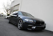 Singapore Gray BMW F10 M5 Roars in An Akrapovic Exhaust
