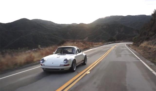 Video: Chris Harris Delves Into the Singer Porsche 911
