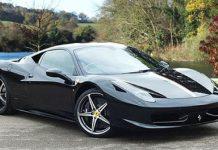 Stolen Ferrari 458 Italia