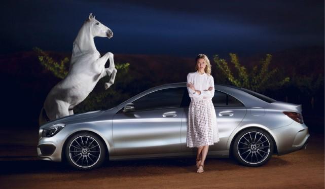 Supermodel Karlie Kloss Stars in 2013 Mercedes-Benz CLA Film