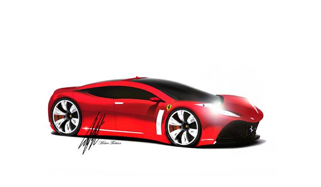 Ferrari 4-Door Elegance Concept