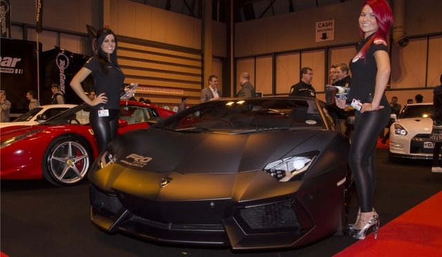 The Performance Car Show at Auto International 2013