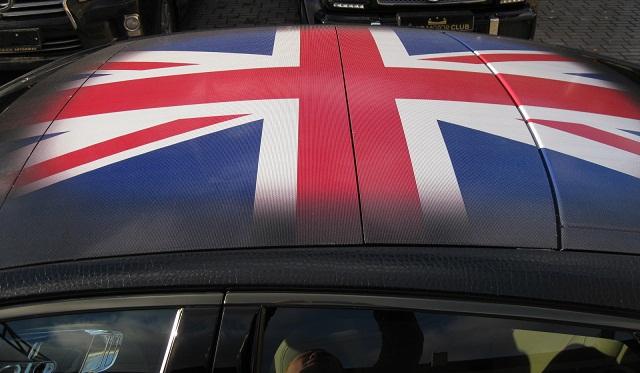 Union Jack Jaguar XJ Supersport