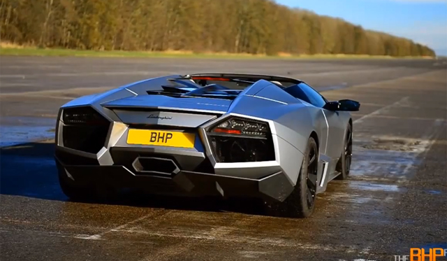 Video: Lamborghini Reventon Roadster Driven on The BHP Project
