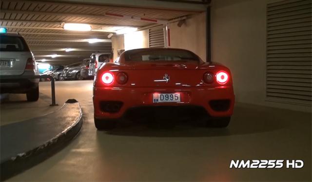 Video: Ferrari 360 Modena with Level 2 Capristo Exhaust