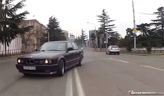 Video: Crazy BMW M5 Street Drifter