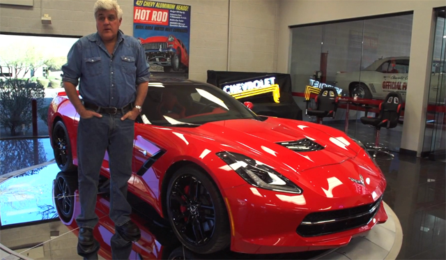 Video: Jay Leno Takes a Tour of the 2014 Chevrolet Corvette Stingray