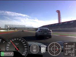 Video: Chevrolet Corvette C6 Z06 Chasing Camaro ZL1 on Circuit of the Americas