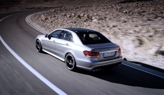 Video: Mercedes-Benz Releases First Trailer for new E63 AMG