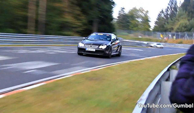 Video: Mercedes-Benz CLK AMG DTM 1 of 100 on the Nordschleife