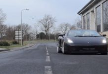 Video: Black Lamborghini Gallardo Spyder by Hamann