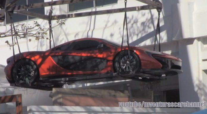 Video: McLaren P1 Goes Airborn in Beverly Hills