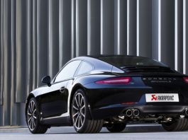 Official: Akrapovic Slip-on Titanium Exhaust for 2012-13 Porsche 911