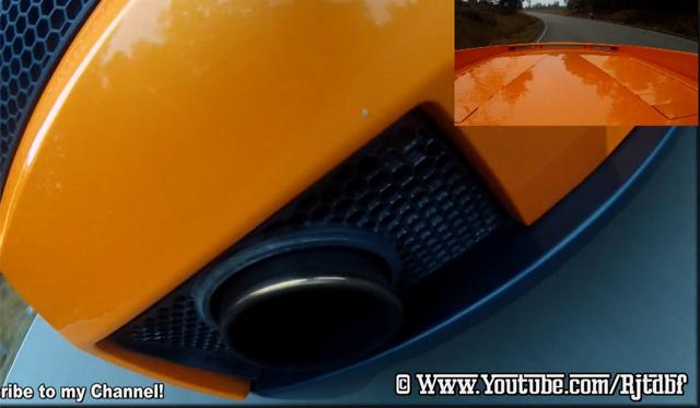 Lamborghini Gallardo With Quicksilver Exhaust on Closer Roads